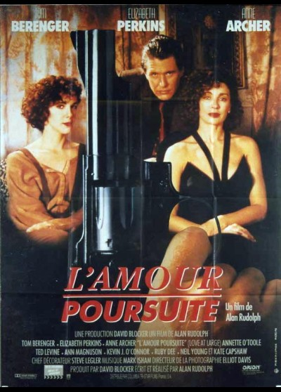 affiche du film AMOUR POURSUITE (L')