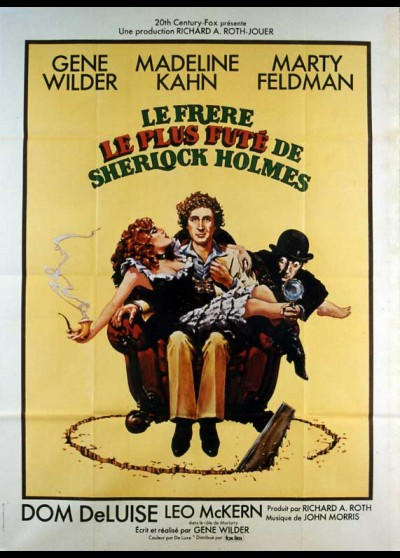 ADVENTURE OF SHERLOCK HOLMES'S SMARTER BROTHER (THE) movie poster