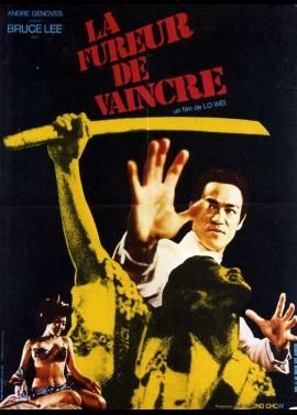 affiche du film FUREUR DE VAINCRE (LA)