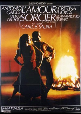 AMOR BRUJO (EL) movie poster