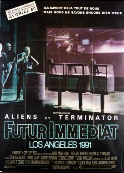 affiche du film FUTUR IMMEDIAT LOS ANGELES 1991