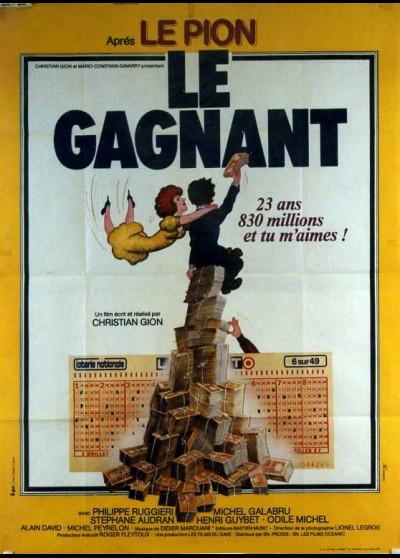 affiche du film GAGNANT (LE)