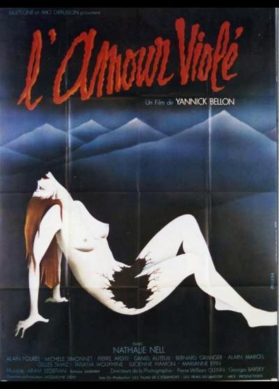 affiche du film AMOUR VIOLE (L')