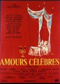AMOURS CELEBRES (LES)