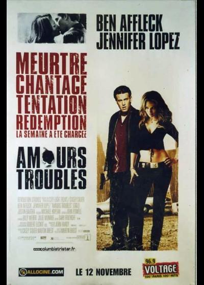 affiche du film AMOURS TROUBLES