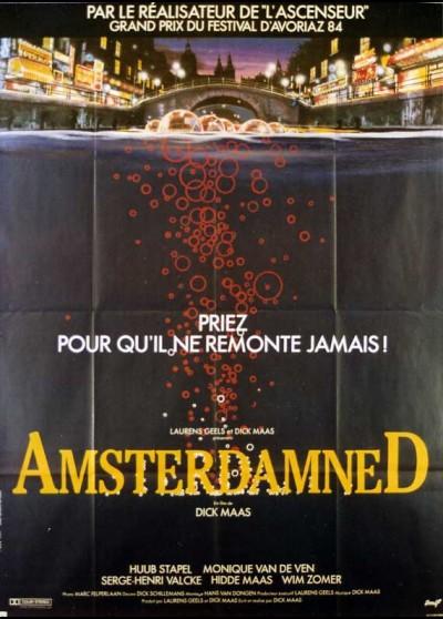 affiche du film AMSTERDAMNED