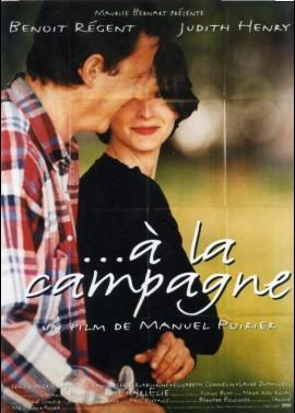 affiche du film A LA CAMPAGNE