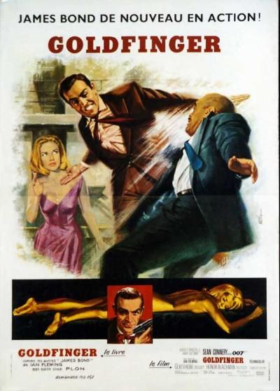 GOLDFINGER movie poster