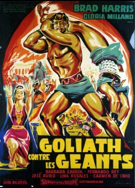 affiche du film GOLIATH CONTRE LES GEANTS