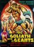 affiche du film GOLIATH CONTRE LES GEANTS