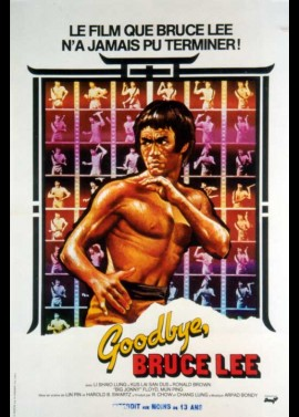 affiche du film GOODBYE BRUCE LEE