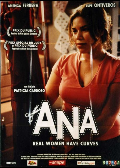 affiche du film ANA REAL WOMAN HAVE CURVES