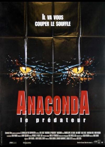 affiche du film ANACONDA LE PREDATEUR