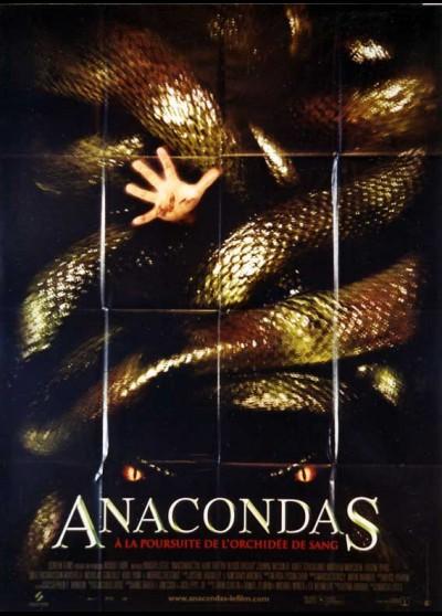 affiche du film ANACONDAS A LA POURSUITE DE L'ORCHIDEE DE SANG