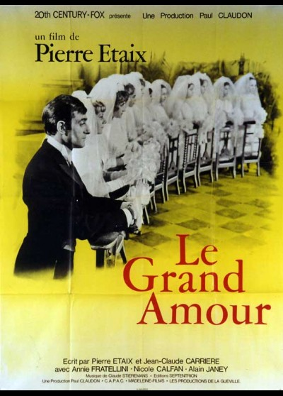 GRAND AMOUR (LE) movie poster
