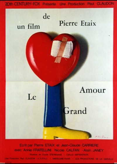 affiche du film GRAND AMOUR (LE)