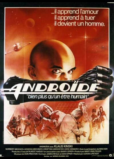 affiche du film ANDROIDE