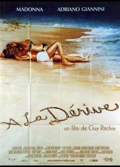 affiche du film A LA DERIVE