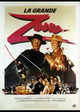 ZORRO THE GAY BLADE movie poster
