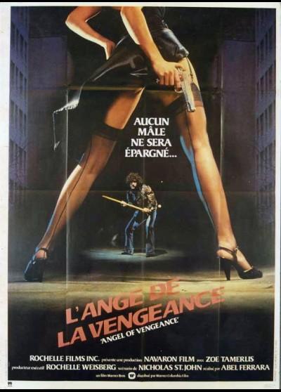 affiche du film ANGE DE LA VENGEANCE (L')