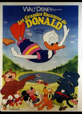 DONALD DUCK'S SUMMER MAGIC movie poster