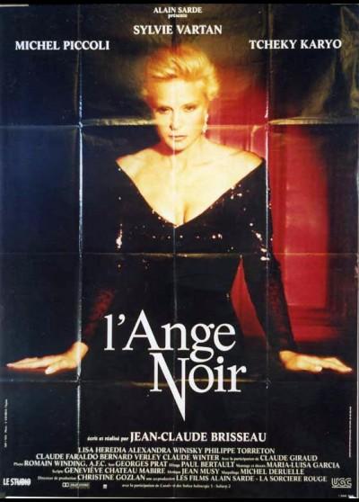 affiche du film ANGE NOIR (L')