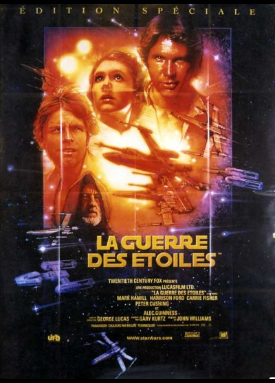 STAR WARS EPISODE 4 movie poster