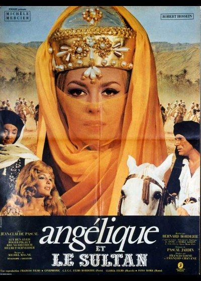 ANGELIQUE ET LE SULTAN movie poster