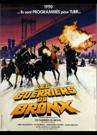 1990 I GUERRIERI DEL BRONX movie poster