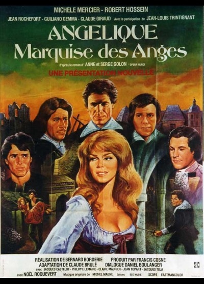 ANGELIQUE MARQUISE DES ANGES movie poster