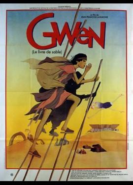 GWEN LE LIVRE DE SABLE movie poster
