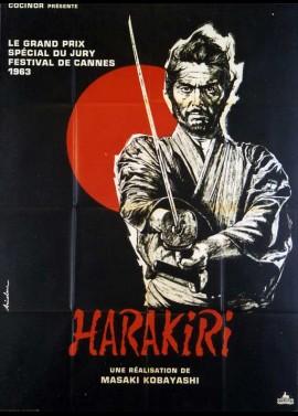affiche du film HARAKIRI
