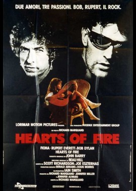 HEARTS OF FIRE movie poster