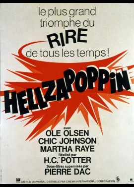 HELLZAPOPPIN movie poster