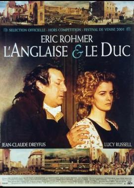 affiche du film ANGLAISE ET LE DUC (L')