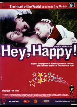 HEY HAPPY movie poster