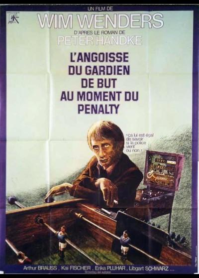 affiche du film ANGOISSE DU GARDIEN DE BUT AU MOMENT DU PENALTY (L')