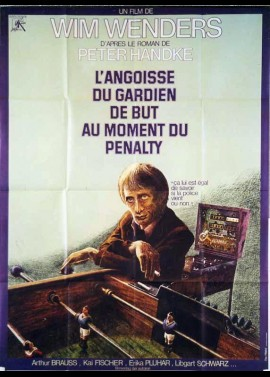affiche du film ANGOISSE DU GARDIEN DE BUT AU MOMENT DU PENALTY (L')