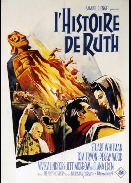 affiche du film HISTOIRE DE RUTH (L')