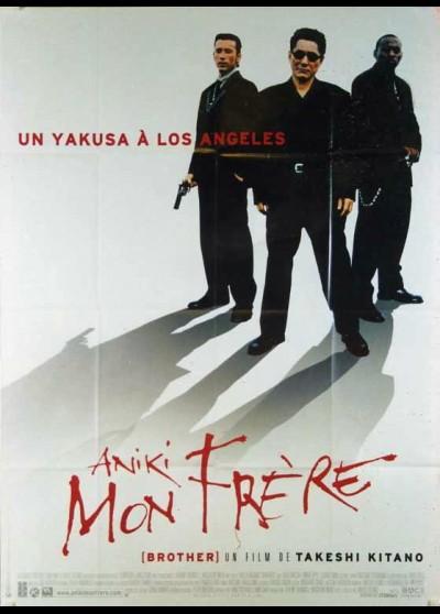 affiche du film ANIKI MON FRERE