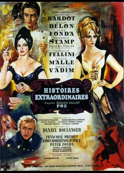 HISTOIRES EXTRAORDINAIRES movie poster