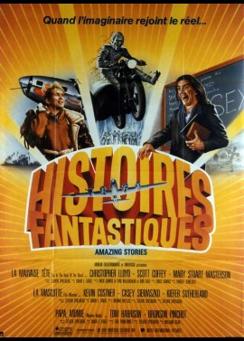 AMAZING STORIES movie poster