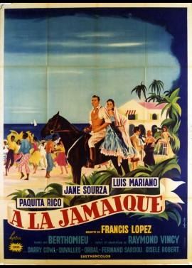 affiche du film A LA JAMAIQUE