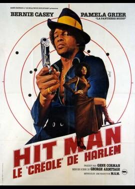affiche du film HIT MAN LE CREOLE DE HARLEM