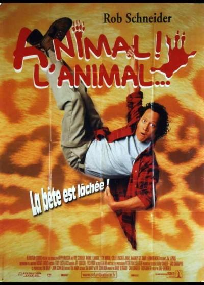 affiche du film ANIMAL L'ANIMAL