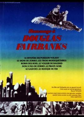 HOMMAGE A DOUGLAS FAIRBANKS movie poster