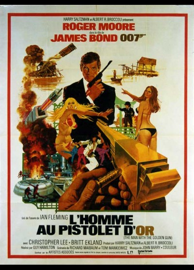 MAN WITH THE GOLDEN GUN (THE) movie poster