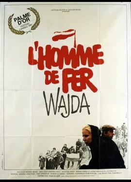 CZLOWIEK Z ZELAZA movie poster