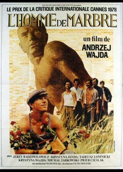 CZLOWIEK Z MARMURU movie poster