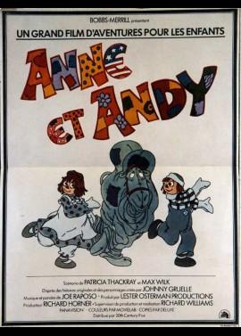 affiche du film ANNE ET ANDY